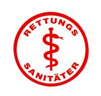 Sanitäter logo  EH/SAN - DLRG Bezirk Rhein-Neckar e. V.